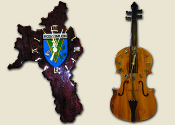 Roscommon & Violin Clocks